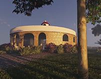Maison et jardin écologique IMTA