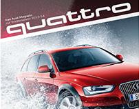 Audi quattro Winter Magazin