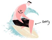 Surfing wordlist