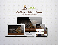 Javalogy Coffee Bar Web Design Proposal