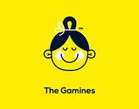 The Gamines | brand identity