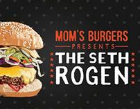Mom's Burgers presents The Seth Rogen