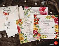 Wedding Invite Design for Sita & Anujeet