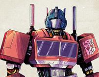Optimus Prime - Fan Art