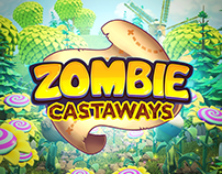 Zombie Castaways I Promo Visuals