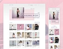 IDOL♡CODE - responsive webdesign concept