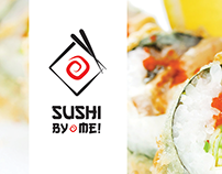 Sushi Bar - SushiBy.me - Logo and visuals