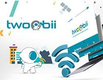 Twoobii Website and Branding Design