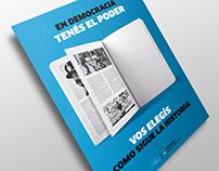 Democracia Argentina | Poster