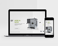Architects Associates | Website Design Concept