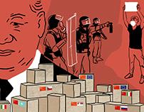 China's aid diplomacy & crackdown on Hong Kong protests