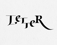 THE BEAUTY OF LETTER