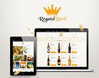 Regatul Berii (Beer Kingdom) - Logo + UI/UX