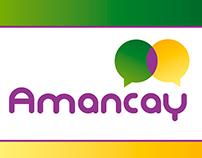 Amancay, Language school. Logo and Brochure Project
