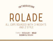 Rolade Typeface