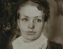 Portrait in grey.