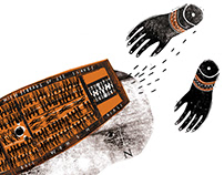 TRANSATLANTIK – editorial illustration