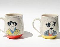 Dog Portrait Mugs