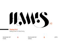 HAMIS vol. 2 FONT