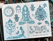 Boho Style Yoga Set