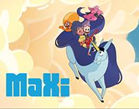Auteur et scénariste - Série animée MaXi
