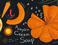Pumpkin soup recipe(TDAC)