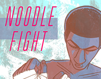 Noodle Fight Graphic Novel