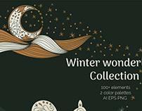 Winter Wonderland Clipart CollectionbyTatsiana