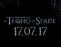 Il Trono di Spade 7 - Campagna Social