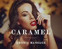 Home page for erotic massage salon