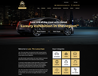Luxe - The Luxury Expo Website UI/UX