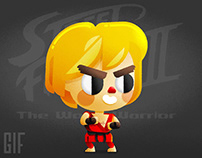 Ken Masters | SFII Kawaii Animated Tribute