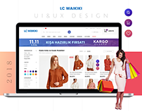 Lc Waikiki Ecommerce - Shop / Cart UI/UX Design