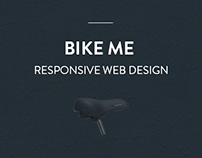 Bike Me - Web & Mobile Design