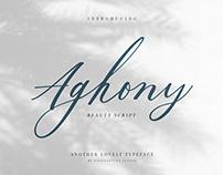 Aghony - Beauty Script