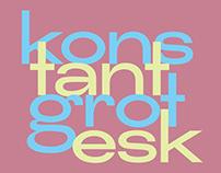 KONSTANT GROTESK - FREE FONT
