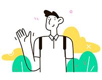 Easy Illustrations