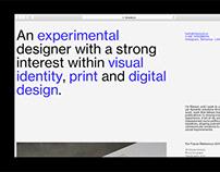 Digital Portfolio (rdwood.co)