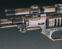 de-10 blaster pistol