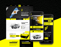 Landing Page | Interface Design & Development