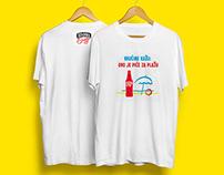 Commercial work; T-shirts for Ožujsko