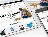 Liapela eCommer website