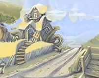Environment Design - Home Wheat Home