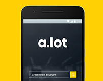 A.Lot app design
