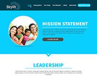 Skylit - Landing Page Design Inspiration