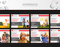 Intermedicas - brochure, flyers & marketing key visuals