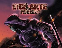 Vigilante Project Graphic Novel - Comic Book Lettering