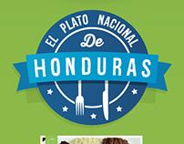 El Plato Nacional de Honduras