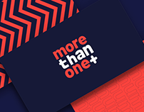 More Than One | Branding