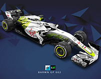Re:imagined - Brawn GP 002 Livery